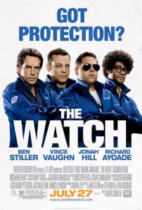 Affiche promotionnelle - The Watch