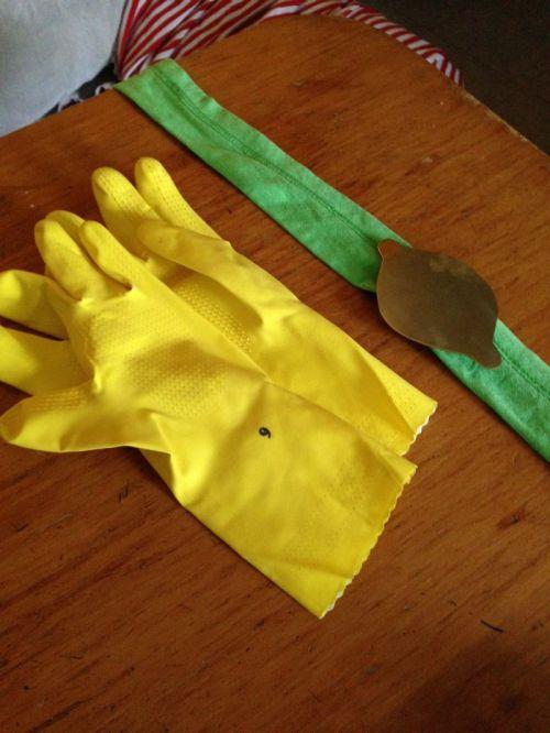 Accessoires de costume pour Lemongrab